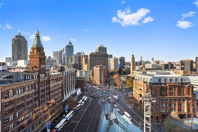 Sydney Hotel City View