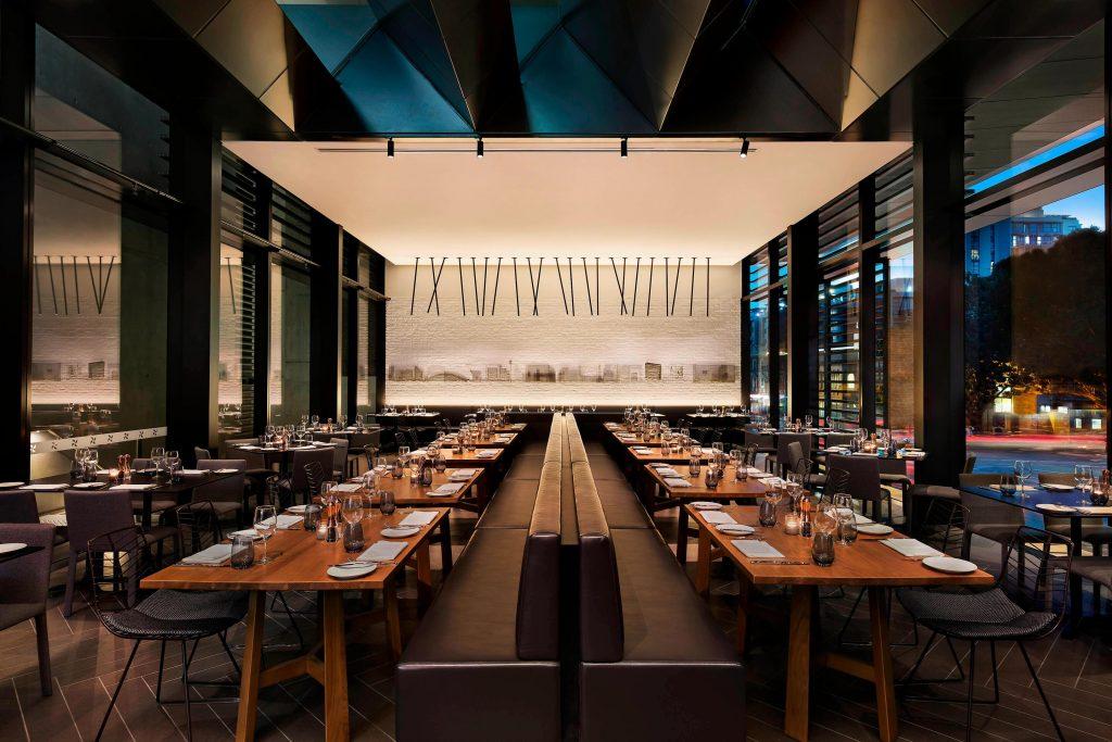 Sydney Central Park restaurant Sheraton hotel fine dining